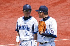 DSC01382 (shi.k) Tags: 横浜スタジアム 横浜ベイスターズ 120511 山崎憲晴 イースタンリーグ 後藤武敏