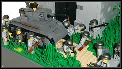 Lego world war 2 (=DoNe=) Tags: world 2 by viktor war tank with lego models scene ww2 custom done cromwell panzer i