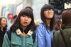 Young girls in Meongdong (CyprienR) Tags: korea seoul 2012 myeongdong coreenne