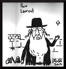 Chroniques de Jrusalem - Delisle (Hyacinthe de Cavallre) Tags: juin 2012 ddicace delisle commdie