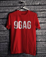 9GAG Logo - Red (everydayshirt) Tags: indonesia tshirt gift kaos distro everydayshirt