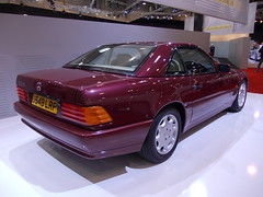 Mercedes-Benz R129 500 SL 1991 (Zappadong) Tags: lady essen sl diana mercedesbenz di techno 1991 500 spencer 2012 classica r129
