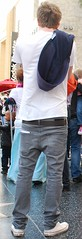 Sagging skinny boy tourist (Red Hat Boy) Tags: boy kid jeans sagger skinnyboy saggerboy