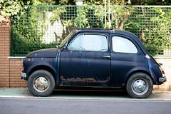 Italy's stories (mickymac49 (mmf)) Tags: italy car 50mm nikon fiat 500 weeks 52 d90 cirella