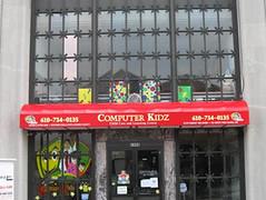 Awning - Computer Kidz