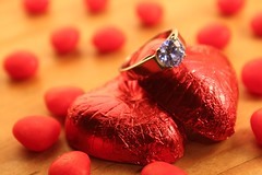Candy Ring (JaegerScot) Tags: wood love diamonds candy heart chocolate cinnamon ring diamond cinnamonhearts