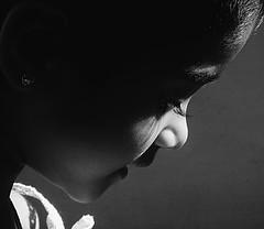 Pradeepa Shy ([PKPC]) Tags: morning girls light portrait people blackandwhite bw india black art home girl beautiful smile face childhood kids contrast dark photography photo kid eyes day mood child play image retrato candid indian sony shy portrt kinder nios nia kind innocence laughter casual enfants criana chennai crianas menina enfant nio fille ritratti tamil mdchen tamilnadu girlchild bwportrait   enblancoynegro indiangirl indianchild puer effigies indianculture puella pkpc filii  noir praveenkumarpalanichamy haedos pkpcphotography pkpcwork