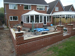 Getting Closer (Alex and Andy Main) Tags: andy photography pattern shropshire main bricks telford patio headers bricklaying stretchers andymainphotography