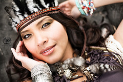 Pocahontas (Roberta Facchini) Tags: london make up look fashion model eyes shooting pocahontas roberta facchini ruobby robertafacchini rfpeople wwwrobertafacchinicom
