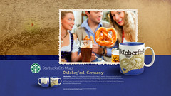 Starbucks City Mug Oktoberfest Desktop Wallpaper (Magic Ketchup) Tags: germany munich oktoberfest starbucks mug desktopwallpaper octoberfest citymugs 2008series