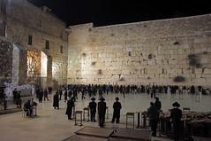 Western Wall (tttske_C) Tags: night israel jerusalem westernwall jewishquarter 嘆きの壁 ユダヤ人地区 エルサレムイスラエル