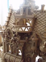 Cardboard castle (Martin Roosalu) Tags: castle cardboard fantasy carton recycle castillo