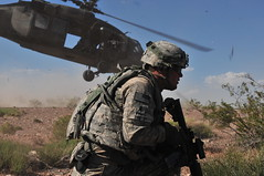Iron Thunder rolls again (The U.S. Army) Tags: newmexico training us military soldiers nm nie armedforces usarmy whitesandsmissilerange networkintegrationevaluation airartilleryraid 2ndheavybrigadecombatteam1starmoreddivision