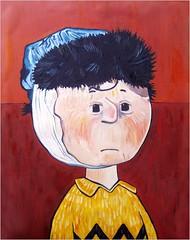 Charlie van Gogh (Dona Mincia) Tags: art cartoon humour charliebrown homage homenagem schulz quadrinhos rereading relecture charlivangogh tributetovincentvangoghreleitura