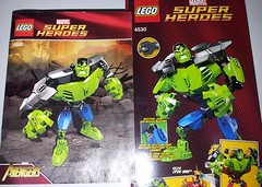 LEGO - SuperHeroes - Hulk (4530) (Slayerdread) Tags: big smash gamma rage hero angry mad marvel bana antihero flickrandroidapp:filter=none