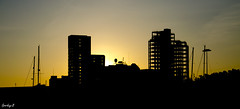 View 52~21 - Sunset over Ipswich Marina. (sparkeyb) Tags: sunset marina 50mm nikon ipswich winerack 18105mm regattaquay d7000 view52 view52ayearinpictures sparkeyb