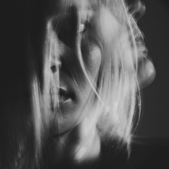 from within. (Amanda Carlsson) Tags: portrait woman white black girl nikon long exposure slow blonde shutter tamron tillsammans d700 fotosondag fs120527
