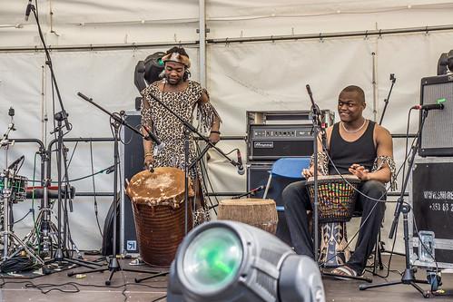 Moribo Wa Afrika Musical Dance Group - Celebrate Africa Day In Dublin (Day 2)