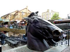 London. Camden Town. Camden Lock. Stables Market (R come Rit@) Tags: city horses london camden shops sculture stores cavalli londra sculptures citta negozi stablesmarket ritarestifo