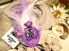 Wedding Earthly Delight (AtelierGwendolyne) Tags: wedding toronto hair handmade feathers feather accessories weddings hairclip hairaccessory fascinator weddingfascinator gwendolynehats