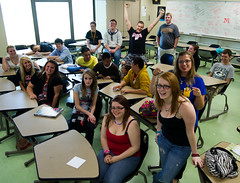 Sixth hour English 12 (yadem.hayseed) Tags: minnesota woodbury eastridgehighschool spring2012
