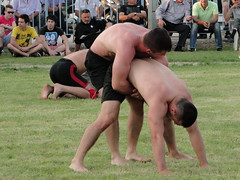 Traditional position (d.mavro) Tags: body wrestling traditional greece wrestler biceps serres yunanistan grecoroman pehlivan athlet serez skutari