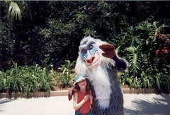 Chloe & Me Orlando 2002 (Roy Richard Llowarch) Tags: orlando disney universalstudios eleven magickingdom orlandoflorida universalislandsofadventure disneyparks chloebarr chloellowarch