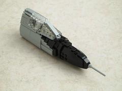 F-106A Delta Dart Work In Progress (Mad physicist) Tags: fighter lego workinprogress wip usaf convair f106 deltadart f106a