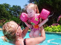 Pool Fun with Grandma (Jeff Clow) Tags: family summer pool fun dallas toddler texas grandmother granddaughter dfw enjoyment pleasure threeyearold gpsetest