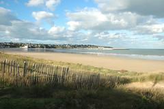 DSC_9154 (ichauvel) Tags: sea mer france beach clouds landscape sand dune sable bretagne britanny paysage plage europenuages