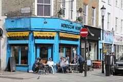 Moroccan House (SReed99342) Tags: uk england men bird london cafe finger portobelloroad moroccanhouse