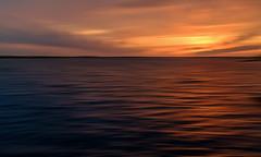 Florida, Spring, 2014: Twin Oaks Pan (mikepino) Tags: sunset lake abstract landscape spring florida fl goldenhour