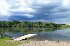 Boat Launch, Alix Lake, AB (amandyg) Tags: wow ab alberta alix cans2s