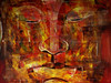 Vietnam - Gennaio 2014 - explore  28-4-14 #462 (anton.it) Tags: vietnam budda colori viaggio tela religione dipinto serenità canong10 antonit