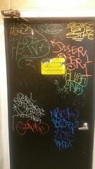 BATHROOM DOOR TAGS (beengraffin) Tags: zoe hope one graffiti hand tank sandiego style tags huge vans cupid gsa hek handstyle oner puker sleez bizr stkc nwok dzier ayr7