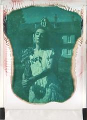(BoglarkaK) Tags: flowers portrait film fashion analog vintage hospital psychiatry polaroid bride antique gothic victorian medical madness victoriana instant analogue sanatorium expired pastiche expiredfilm hysteria landcamera packfilm colorpack charcot polaroid669 peelapart vintagefashion polacolor supercolourswinger colourswinger
