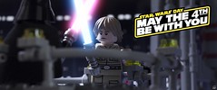 MAY THE 4TH BE WITH YOU (fullnilson) Tags: city cloud photography star back with lego you luke may 4th darth empire hero be duel wars vader strikes legostarwars skywalker bespin galactic moc 2016 legography fullnilson