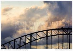 Sydney Harbour Bridge Climb at Dusk ( Mark Sunderland www.marksunderland.com) Tags: travel bridge sunset people architecture clouds dusk sydney australia newsouthwales touristattraction sydneyharbour sydneyharbourbridge bridgeclimb