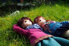 Yara & Yalle (Tales of Karen) Tags: shiny doll skin 1st version may fairy junior bjd normal resin 3rd bluefairy balljointed