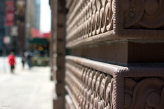 Cornered (Andy Marfia) Tags: street chicago building corner 35mm iso100 loop bokeh bricks depthoffield f28 11600sec d7100