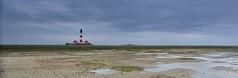Westerhever Sand (Stefan Bttger) Tags: watt leuchtturm sandbank westerhever sigma175028 nokond7200