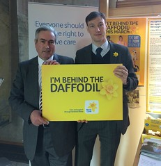 Supporting Marie Curie's annual Daffodil Appeal