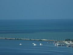 Ponto de fuga do trabalho (Tulio Assis) Tags: sea beauty rio river boat mar barco natural porto beleza recife pernambuco