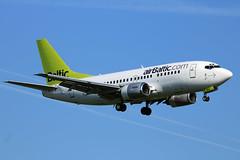 YL-BBQ Boeing 737-522 BTI  LGW (Jetstar31) Tags: boeing bti lgw 737522 ylbbq