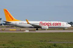 "TC-AZP | Boeing 737-82R/W | Pegasus ""Maya"" (cv880m) Tags: turkey finland helsinki maya pegasus boeing winglet hel vantaa 737 737800 738 73782r flypgs tcazp"