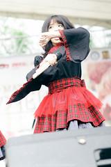Kirari at Hanami 5 (Ilham Luqmanul Hakim) Tags: people music cute girl canon asian pentax yochi stage 55mm idol kawaii bandung indonesian hanami aozora hanami5 stagephotography kirari manuallens eosm smctakumar madokamagica babymetal mirorless stageid