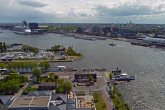 Piet Heinkade, Sixhaven & Amsterdam Centraal Station (rob.brink) Tags: adam amsterdam lookout