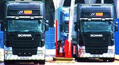 Stobart Pirelli , Scania At Widnes (Gary Chatterton 3 million Views Thank You All) Tags: flickr trucks scania widnes pirelli stobart eddiestobart stobartmotorsport flickrtrucks eddiestobarttrucksandtrailers stobartports stobartspotters