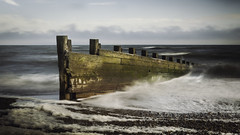 camber (murrin1985) Tags: coast england groyne longexposure camber kent sea waves seascape