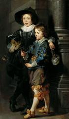 Albert and Nicholas Rubens, the artist's children, 1626-27 // by Peter Paul Rubens (mike catalonian) Tags: portrait painting children fulllength baroque flanders 1627 peterpaulrubens xviicentury 1620s
